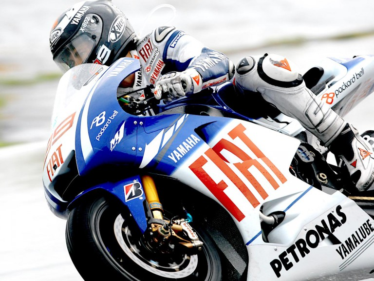 Jorge Lorenzo in action in Sepang