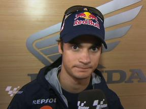 Pedrosa on qualifying