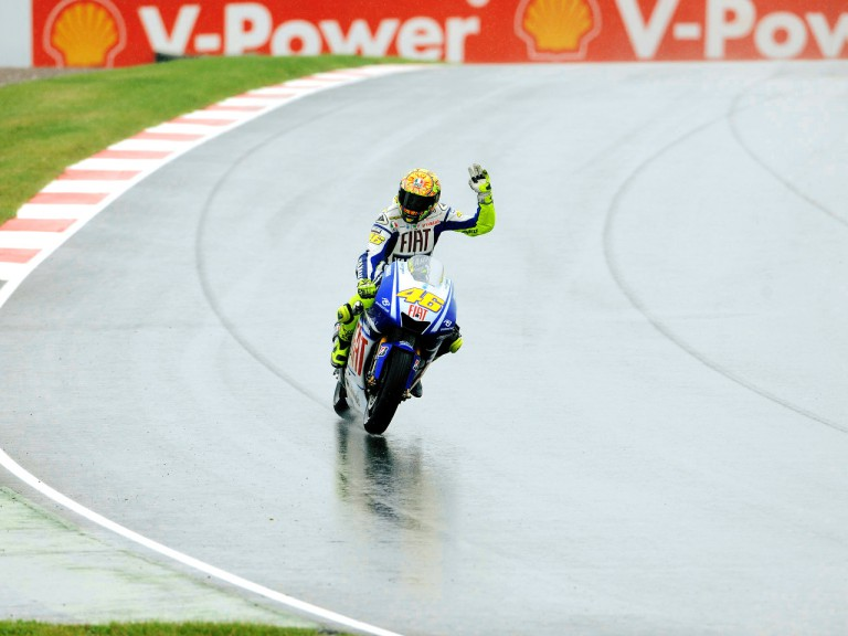 Valentino Rossi after QP in Sachsenring