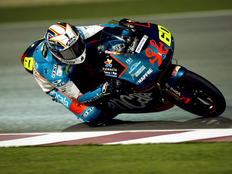 Julian Simon on track in Qatar