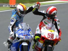 Sachsenring 2009 - 250 Corrida Resumos
