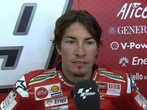 Hayden reviews Sachsenring race