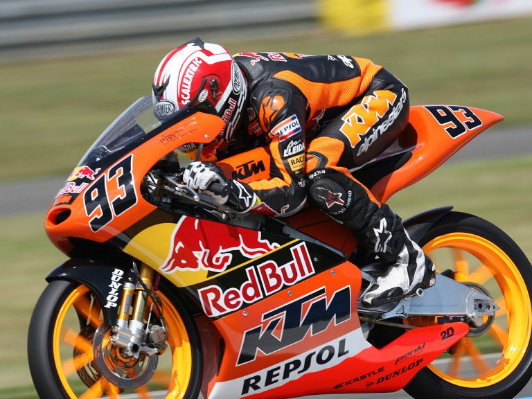 Marc Marquez on track