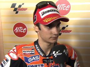 Pedrosa: 'I couldn't ride at the maximum'