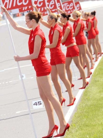 Paddock Girls in Sachsenring