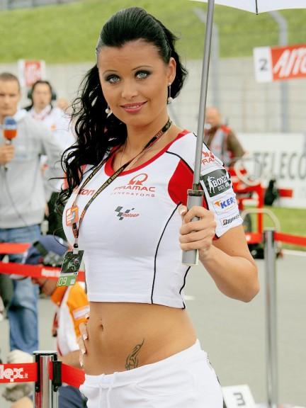 Paddock Girl in Sachsenring