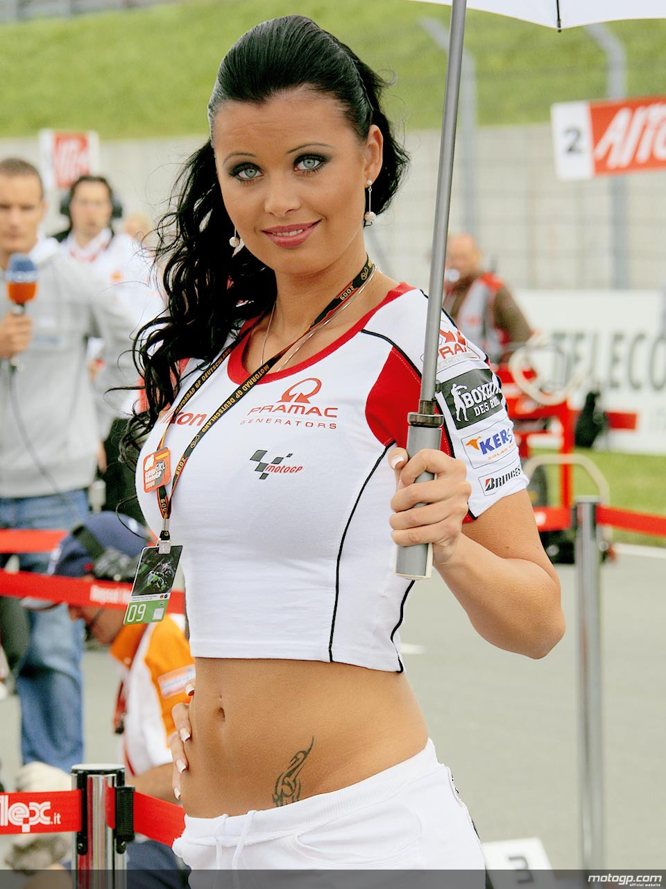 Paddock girls photos