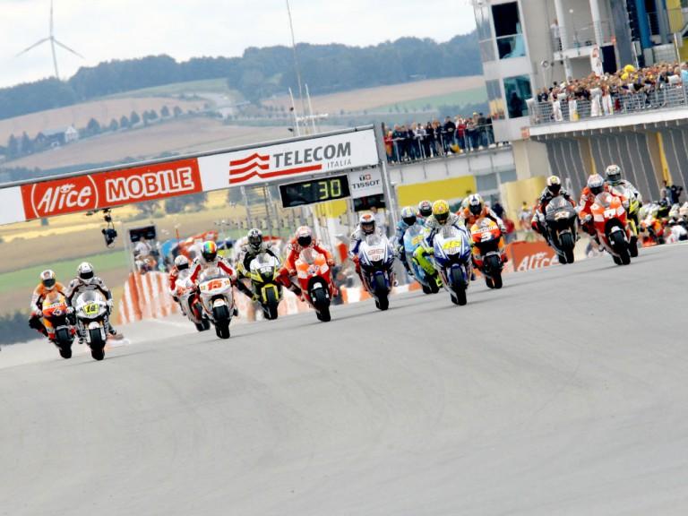 MotoGP action at Alice Motorrad GP Deutschland
