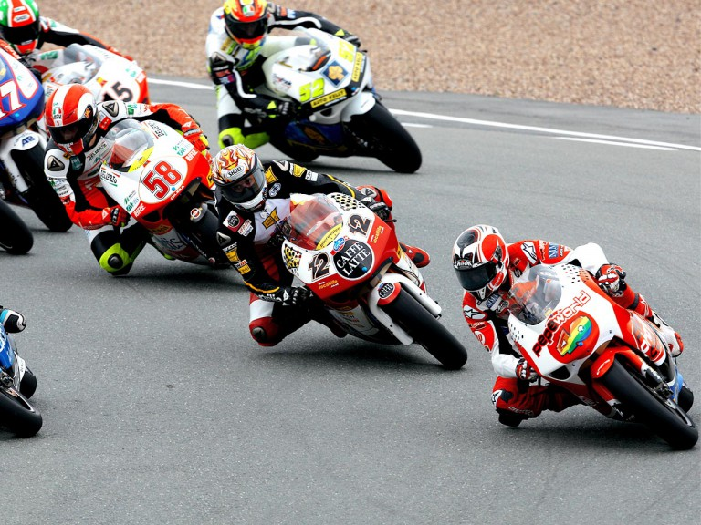250cc Group in action