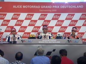 Alice Motorrad Grand Prix Deutschland Post-race press conference - Full video