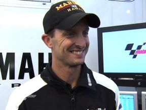 Edwards gives Donington first impressions
