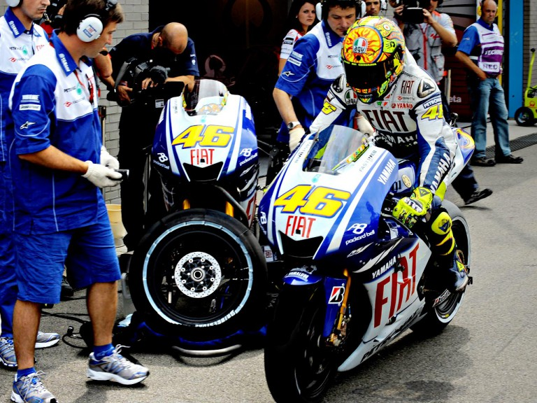 Valentino Rossi set to leave the Fiat Yamaha garage