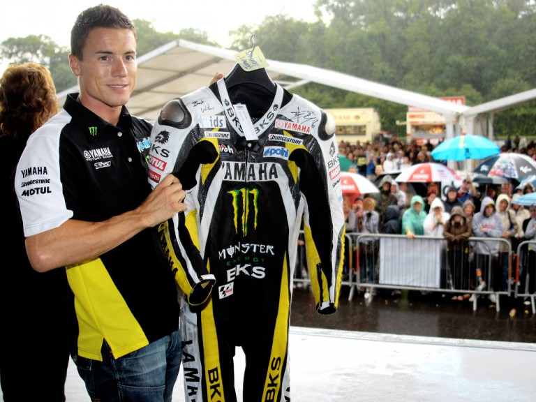 James Toseland  puts leather up for auction at Donington Day of Champions
