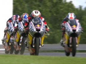 Red Bull MotoGP Rookies: Donington Park Highlights