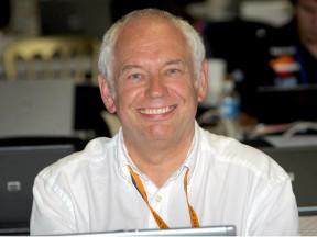 MotoGP statistician Dr. Martin Raines