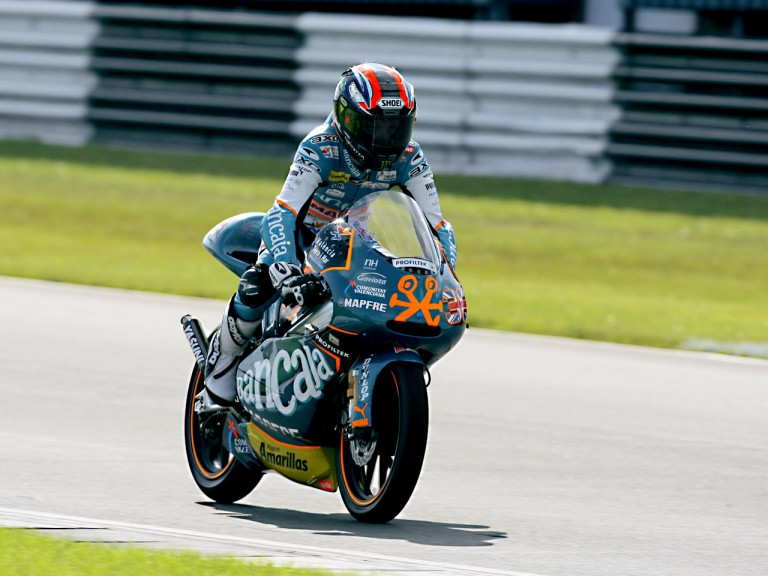 Bradley Smith in action in Donington