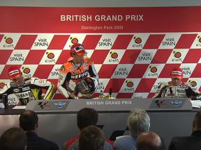 Donington Park Post-race press conference - Full video
