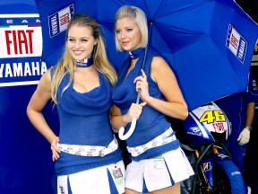 Paddock Girls in Donington