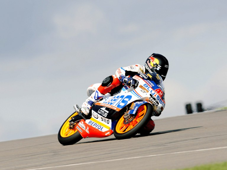 Scott Reddinn in action in Donington