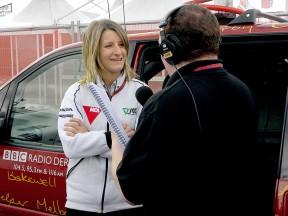 Scot Racing Chief Mechanic Assistant Elena Gallina