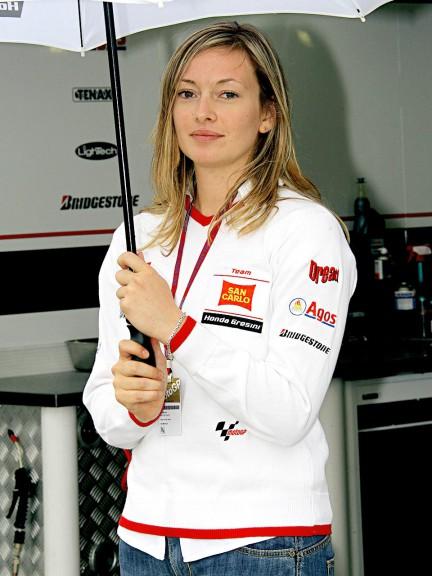 Paddock Girls at British Grand Prix