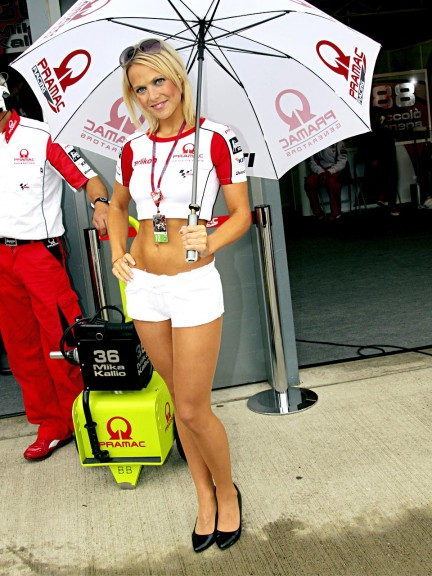 Paddock Girls at British Grand Prix