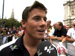 Toseland impressed by fans in Vienna