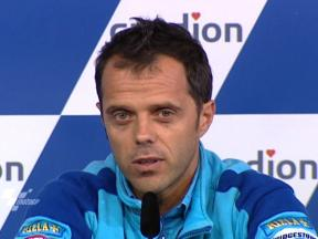 Loris Capirossi in Press Conference