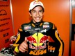 Marc Marquez in the Red Bull KTM garage after QP in Le Mans