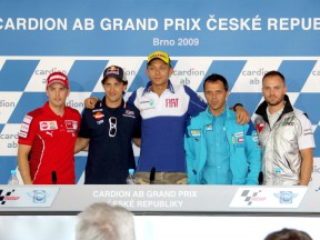 MotoGP Press Conference at Cardion AB Grand Prix
