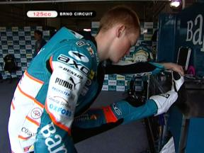 Brno 2009 - 125 FP1 Highlights