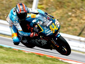 Bradley Smoth in action in Brno