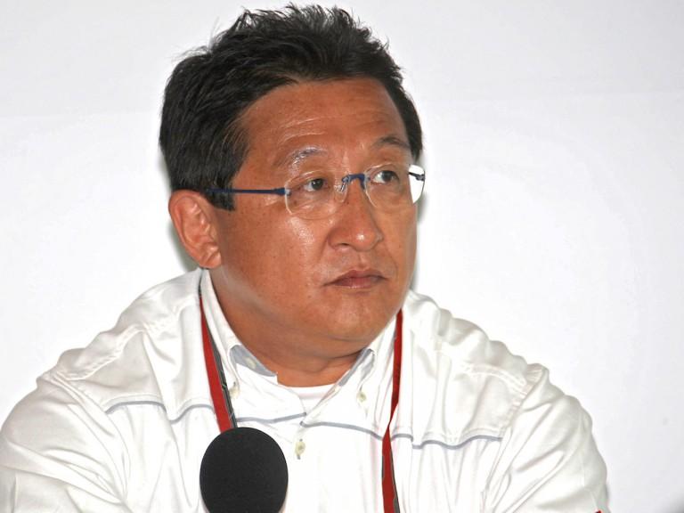 HRC President Tetsuo Suzuki