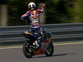 Red Bull MotoGP Rookies Cup: Brno Race 1 Highlights