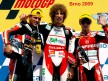 Pasini, Simoncelli and Bautista on the podium at Brno
