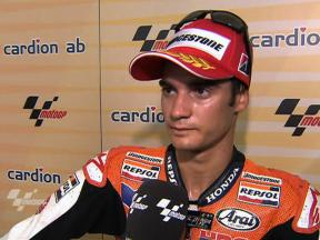 Pedrosa on the podium again