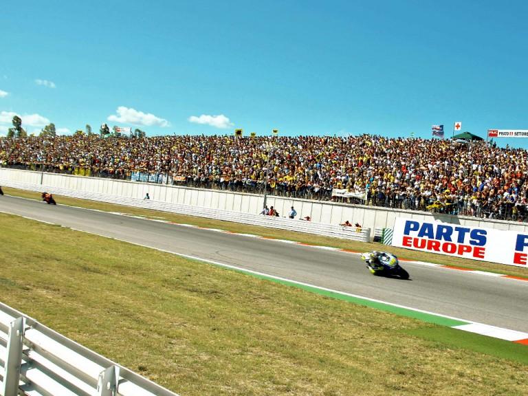 MotoGP action in Misano
