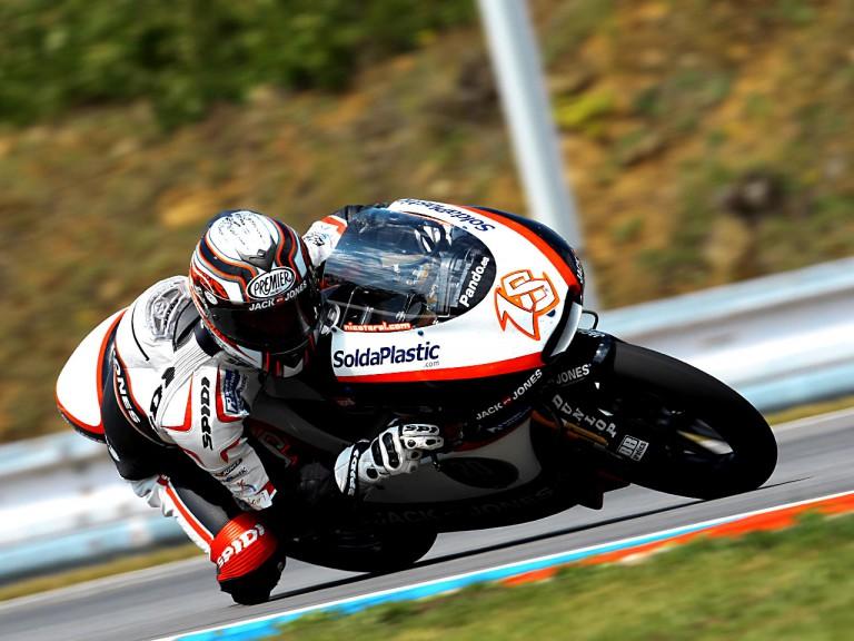 Nicolas Terol in action in Brno