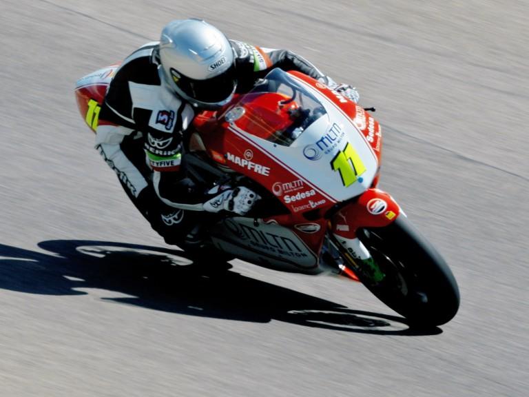 Balazs Nemeth on track