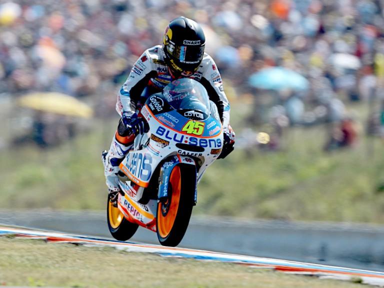 Scott Redding in action in Brno