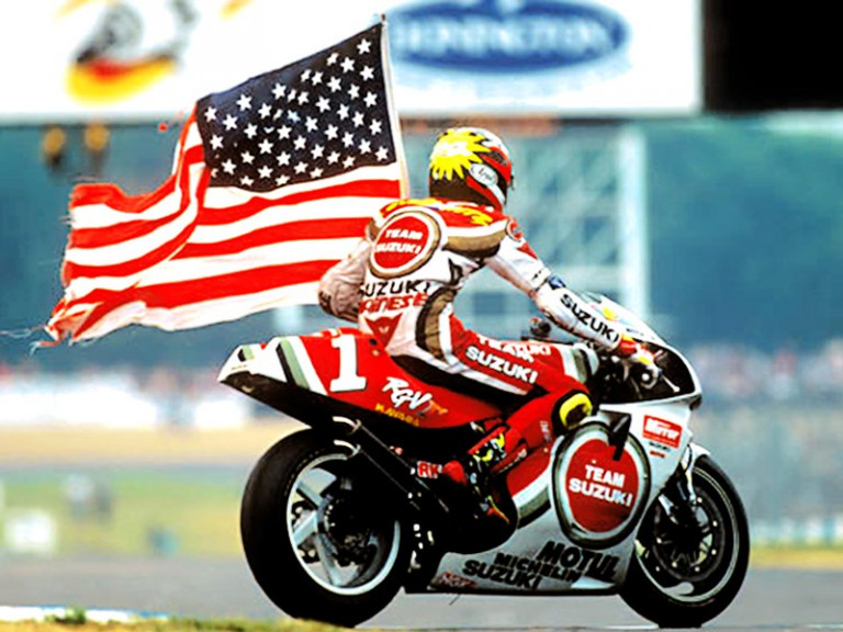 MotoGP Legend Kevin Schwantz at 1994 British GP