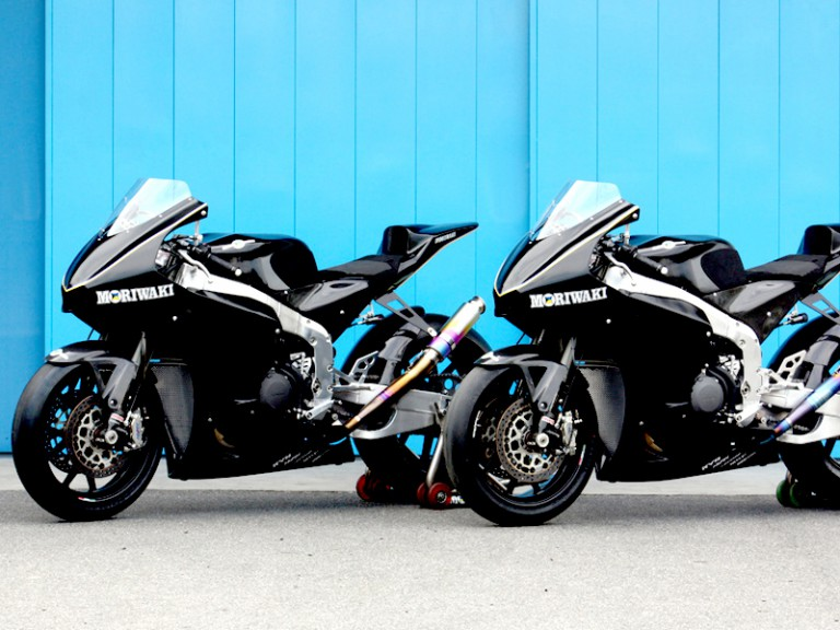 Moriwaki MD600 Moto2 bike