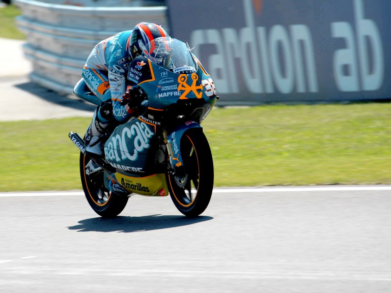 Bradley Smith in action