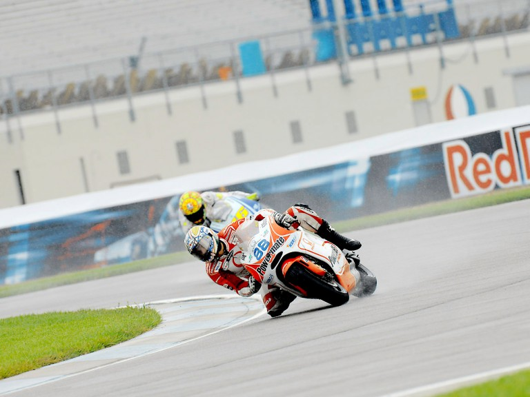Niccolò Canepa in action in Indianapolis