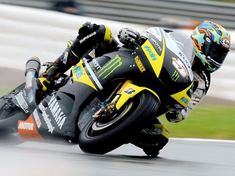 Colin Edwards on track