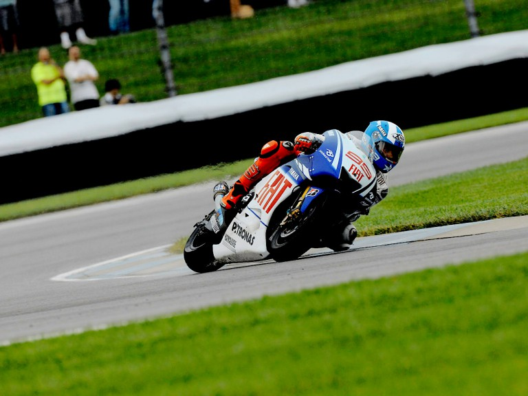 Jorge Lorenzo in action in Indianapolis