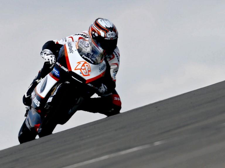 Nico Terol on track
