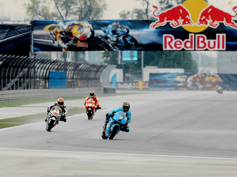 Vermeulen, Talmacsi and Kallio in action in Indianapolis