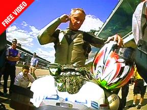 FREE VIDEO: Kevin Schwantz on-track at Indianapolis with BQR's Moto2