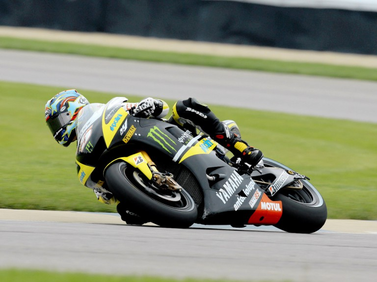 Colin Edwards in action in Indianapolis